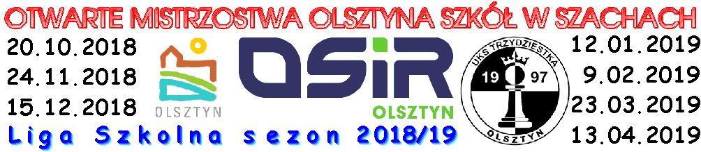 Otwarte Mistrzostwa Olsztyna Szkół w Szachach